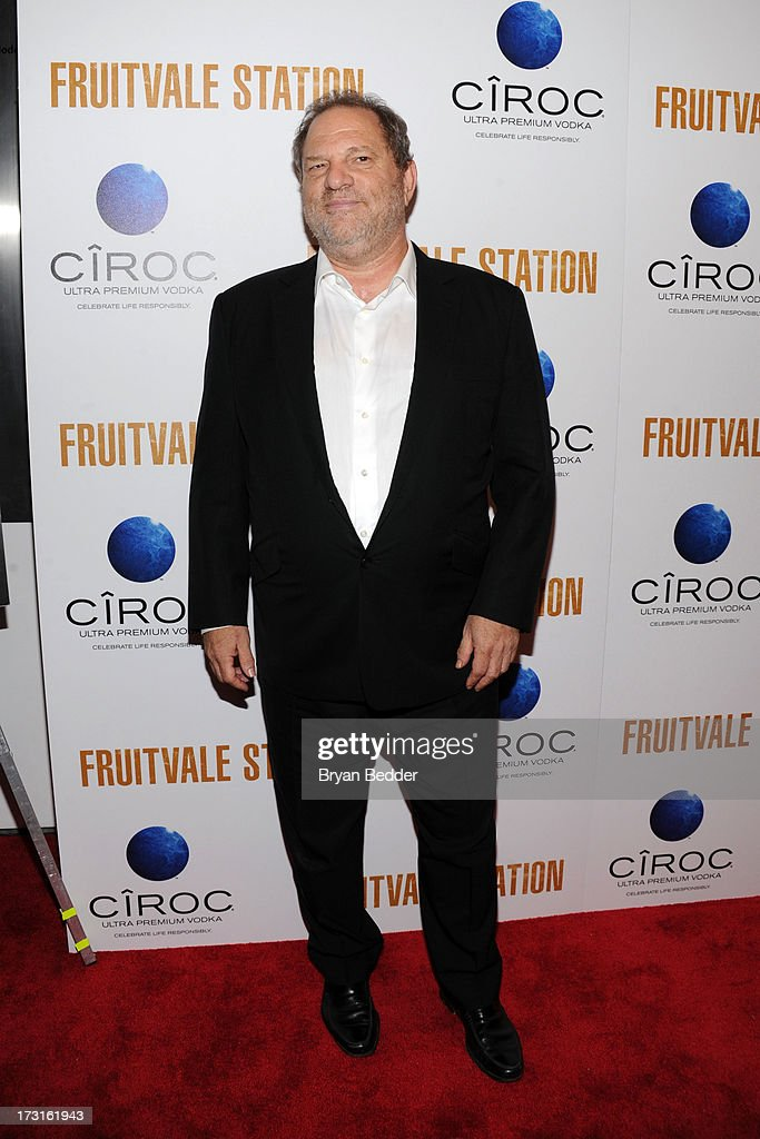 <a gi-track='captionPersonalityLinkClicked' href=/galleries/search?phrase=Harvey+Weinstein&family=editorial&specificpeople=201749 ng-click='$event.stopPropagation()'>Harvey Weinstein</a> arrives at the New York premiere of FRUITVALE STATION, hosted by The Weinstein Company, BET Films and CIROC Vodka on July 8, 2013 in New York City.