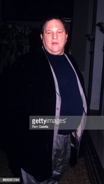 Harvey Weinstein attends '42nd and Vine' Hollywood Hits Broadway Benefit on November 12 2002 at the Waldorf Astoria Hotel in New York City