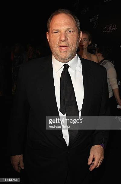 Harvey Weinstein attends amfAR's Cinema Against AIDS Gala party during the 64th Annual Cannes Film Festival at Hotel Du Cap on May 19 2011 in Antibes...