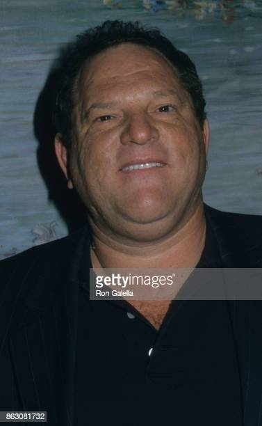 Harvey Weinstein attends Freedom of Expression Fundraiser on January 7 2002 at Tavern on the Green in New York City