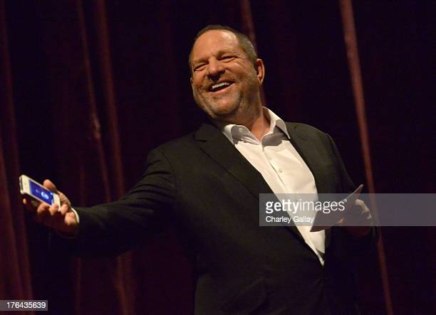 Harvey Weinstein attends LEE DANIELS' THE BUTLER Los Angeles premiere hosted by TWC Budweiser and FIJI Water Purity Vodka and Stack Wines held at...