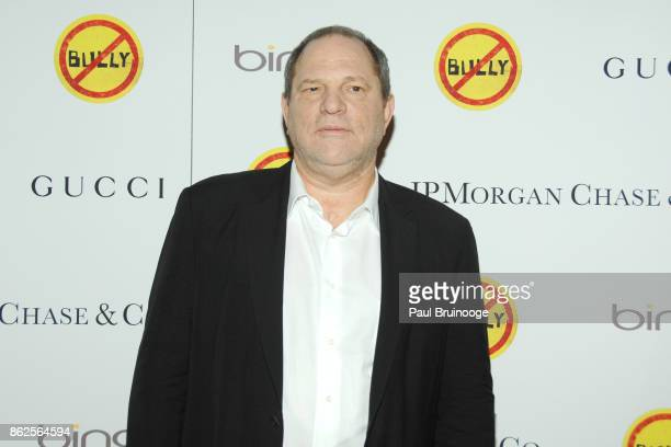 Harvey Weinstein attends NY Special Screening of BULLY at The Paley Center for Media on March 20 2012 in New York City