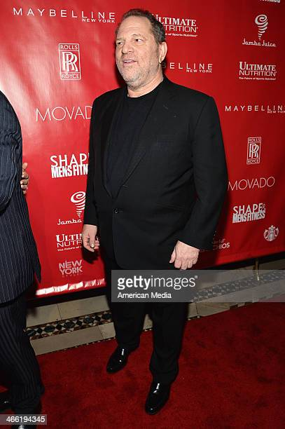 Harvey Weinstein attends SHAPE Men's Fitness Kickoff Party at Cipriani 42nd Street on January 31 2014 in New York City