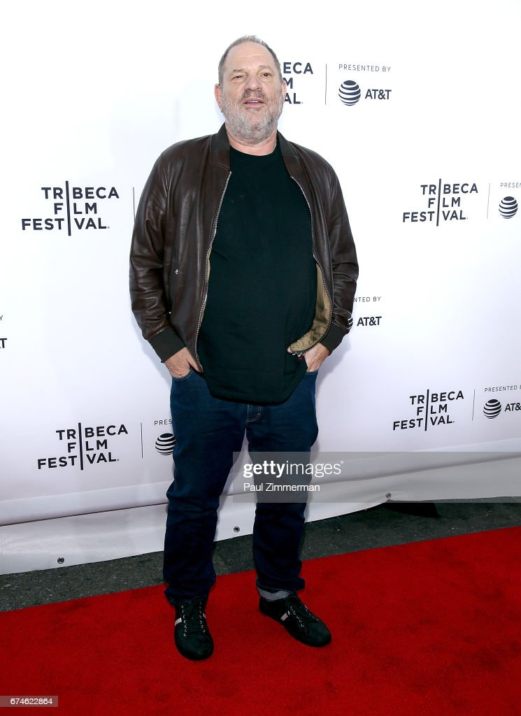 Harvey Weinstein attends the 2017 Tribeca Film Festival - 'Reservoir Dogs' 25th Anniversary Screening at The Beacon Theatre on April 28, 2017 in New York City.
