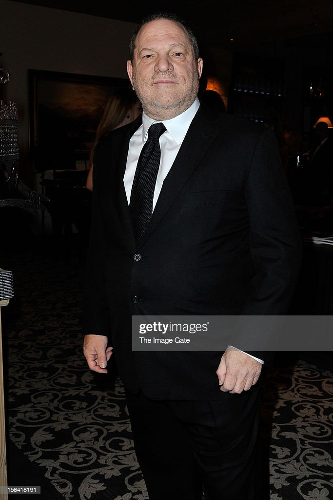 Harvey Weinstein attends the ASMALLWORLD Gala Dinner for Alzheimer Society at the Gstaad Palace Hotel on December 15, 2012 in Gstaad, Switzerland.