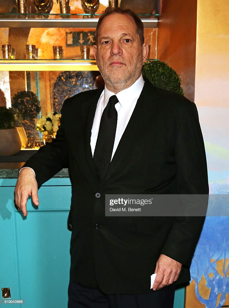 <a gi-track='captionPersonalityLinkClicked' href=/galleries/search?phrase=Harvey+Weinstein&family=editorial&specificpeople=201749 ng-click='$event.stopPropagation()'>Harvey Weinstein</a> attends the Charles Finch and Chanel Pre-BAFTA cocktail party and dinner at Annabel's on February 13, 2016 in London, England.
