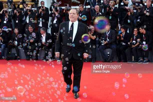 Harvey Weinstein attends the 'Philomena' Premiere during The 70th Venice International Film Festival at the Palazzo del Casino on August 31 2013 in...