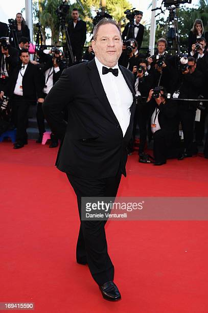 Harvey Weinstein attends the Premiere of 'The Immigrant' at The 66th Annual Cannes Film Festival at Palais des Festivals on May 24 2013 in Cannes...
