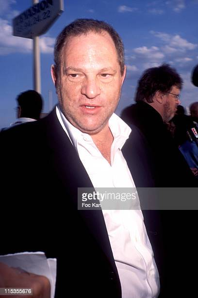 Harvey Weinstein during 2004 Cannes Film Festival 'Fahrenheit 911' After Party at Plage Evasion in Cannes France