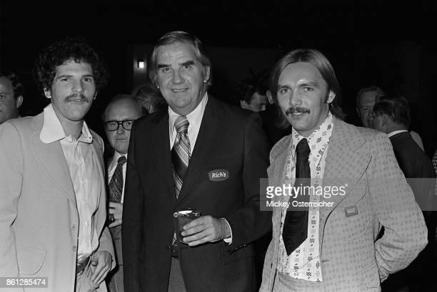 Harvey Weinstein, Ed McMahon, Corky Berger circa 1973