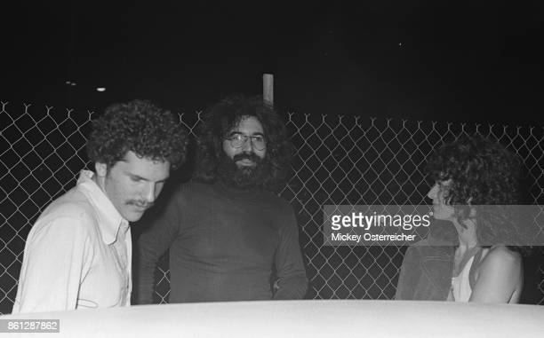 Harvey Weinstein, Jerry Garcia, with Harvey partner Corky Berger September 1973