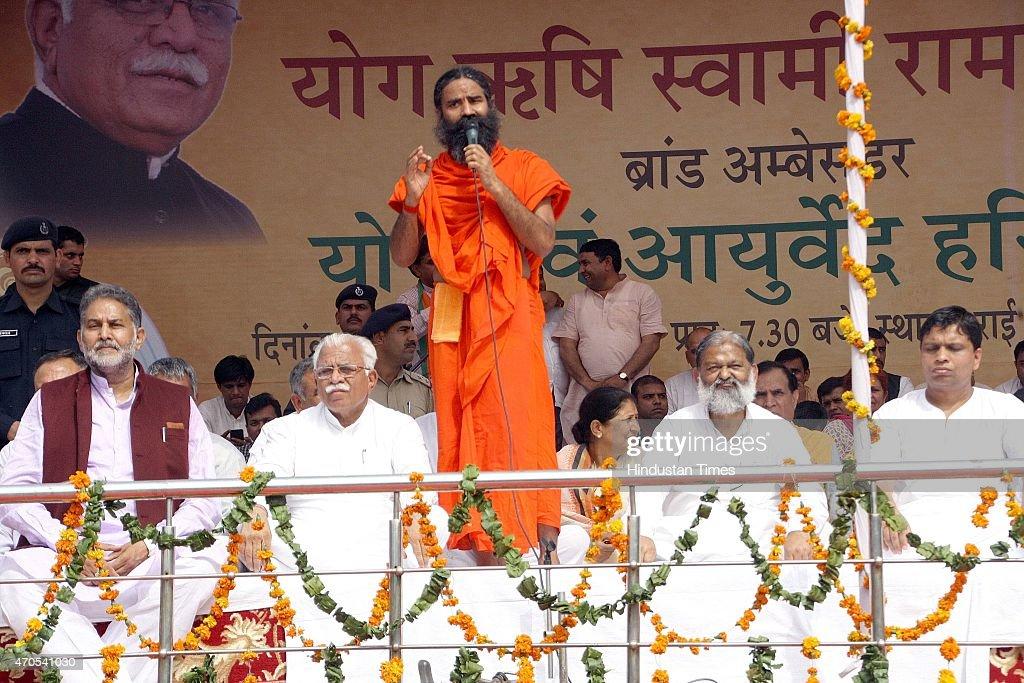 Yoga Guru Baba Ramdev Appointed Brand Ambassador Of State For Yoga And Ayurveda In Haryana