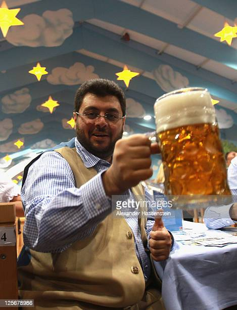Hasan Ismaik attends the Oktoberfest 2011 at Hacker Festzelt on September 20 2011 in Munich Germany