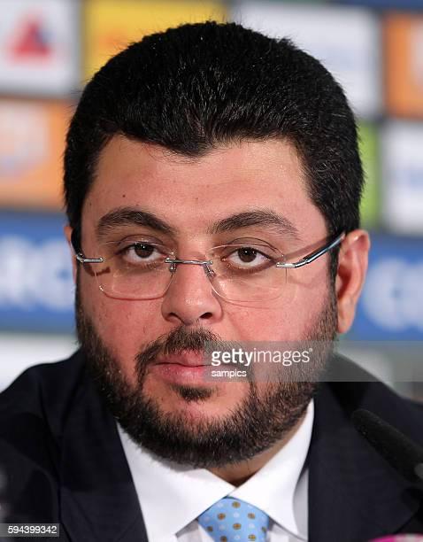 Hasan Ismaik Pressekonferenz mit dem jordanischen Investor und Partner Hasan Ismaik beim TSV 1860 Munchen in der Allianz Arena
