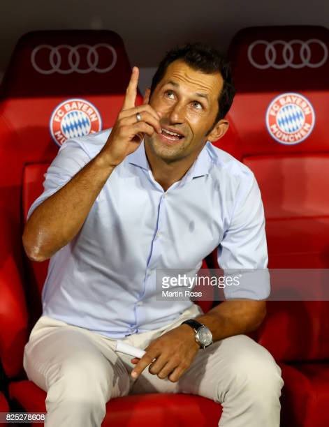 Hasan Salihamidzic new sport director of Muenchen looks on before the Audi Cup 2017 match between Bayern Muenchen and Liverpool FC at Allianz Arena...