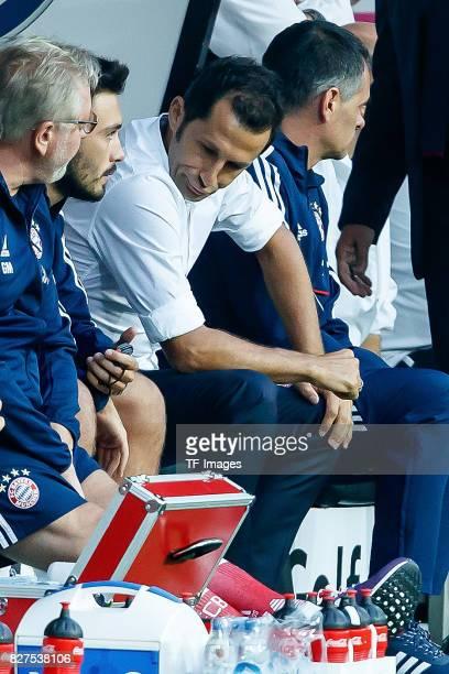 Hasan Salihamidzic of Bayern Muenchen looks on during the DFL Supercup 2017 match between Borussia Dortmund and Bayern Muenchen at Signal Iduna Park...