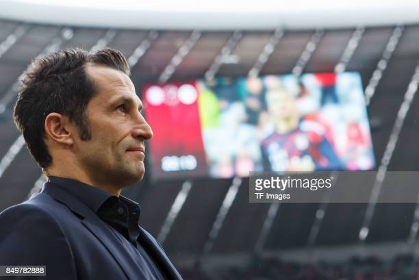 Hasan Salihamidzic of Muenchen looks on during the Bundesliga match between FC Bayern Muenchen and 1 FSV Mainz 05 at Allianz Arena on September 16...