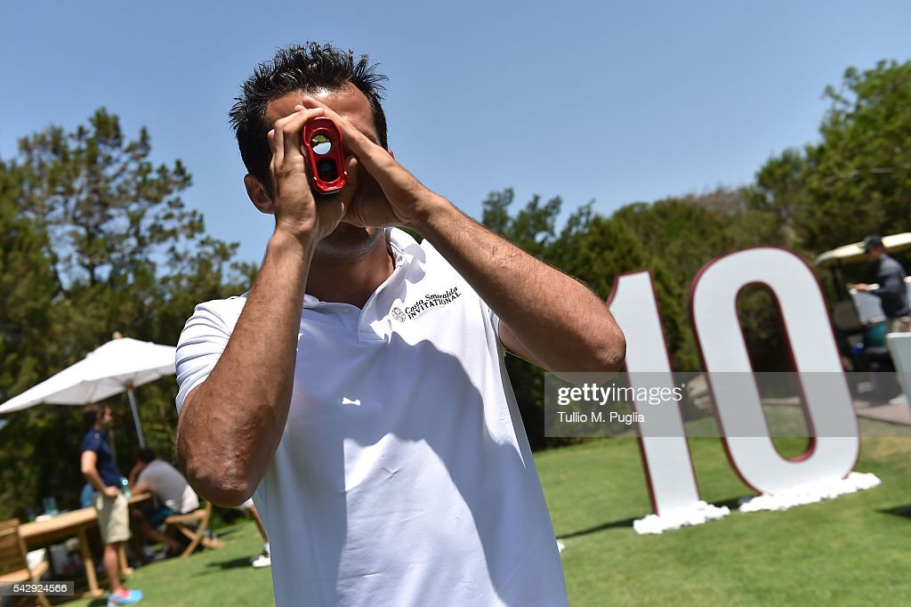 Hasan Salihamidzic poses during The Costa Smeralda Invitational golf tournament at Pevero Golf Club - Costa Smeralda on June 25, 2016 in Olbia, Italy.