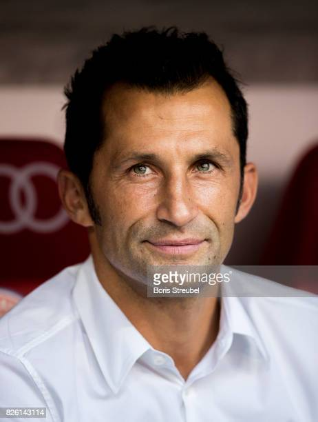 Hasan Salihamidzic Sporting Director of FC Bayern Muenchen looks on prior to the Audi Cup 2017 match between SSC Napoli and FC Bayern Muenchen at...