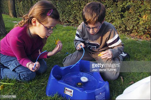 Hasbro and Takara's Beyblade make spinning tops hip again In France On April 01 2003