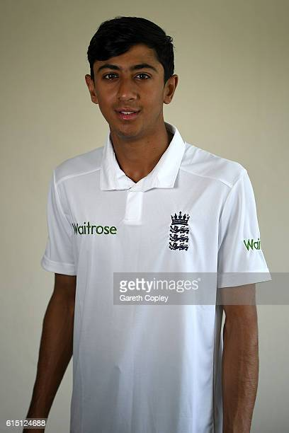 Haseeb Hameed of England poses for a portrait on October 17 2016 in Chittagong Bangladesh