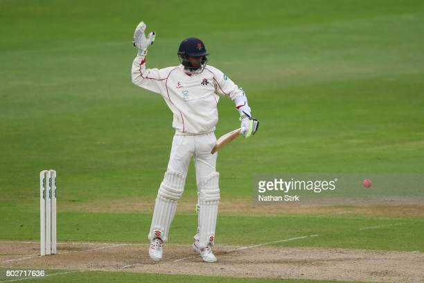 Haseeb Hameed of Lancashire batting during the Specsavers County Championship Division One match between Warwickshire and Lancashire at Edgbaston on...