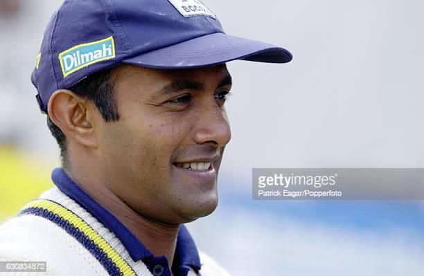 Hashan Tillakaratne of Sri Lanka during the tour match between British Universities and Sri Lankans at Northampton England 3rd May 2002