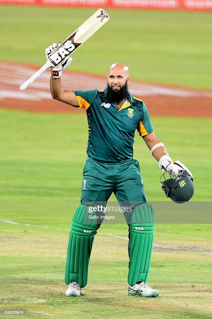 <a gi-track='captionPersonalityLinkClicked' href=/galleries/search?phrase=Hashim+Amla&family=editorial&specificpeople=647392 ng-click='$event.stopPropagation()'>Hashim Amla</a> of the Proteas during the 3rd Momentum ODI Series match between South Africa and England at SuperSport Park on February 09, 2016 in Pretoria, South Africa.