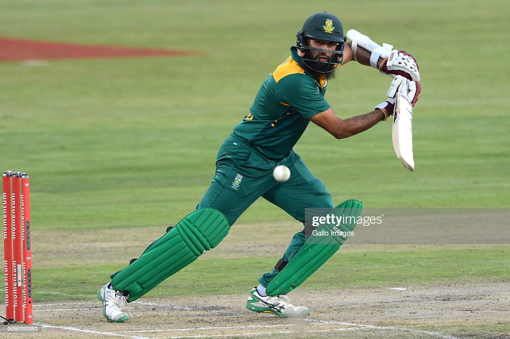 Hashim Amla of the Proteas in action during the 3rd Momentum ODI Series match between South Africa and England at SuperSport Park on February 09 2016...