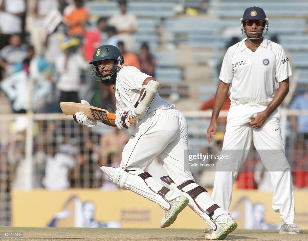 First Test - India v South Africa Day 4 : News Photo