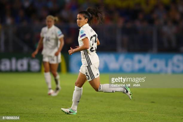 Hasret Kayikci of Germany Women during the UEFA Women's Euro 2017 Group B match between Germany and Sweden at Rat Verlegh Stadion on July 17 2017 in...