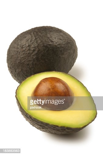 Hass Avocado with Path