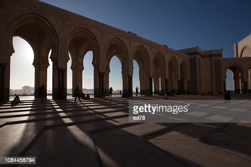 hassan 2 mosque : Foto stock