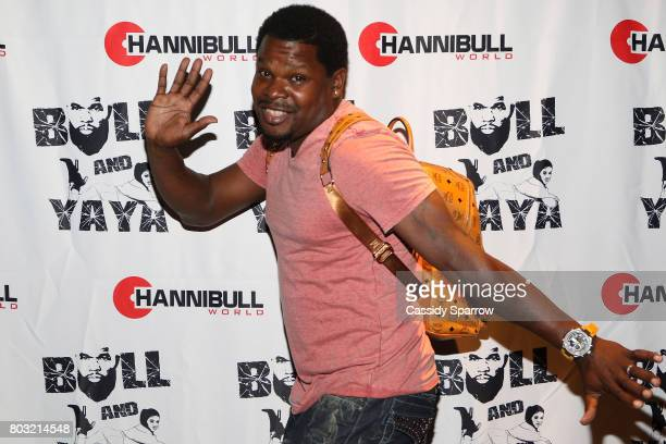 Hassan Oliver attends The Film Review Comedy Show at Helen Mills Theater on June 28 2017 in New York City