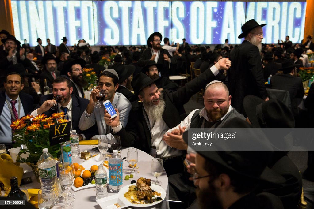 Annual Gathering Of Chabad-Lubavitch Rabbis Held At NJ Warehouse