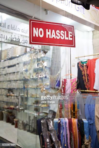 Hassle-free shopping, Luxor, Egypt