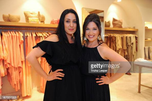 Hasti Kashfia and Randi Zuckerberg attends 'A Balanced Life' discussion panel event at Calypso St Barth at Stanford Shopping Center on April 18 2013...