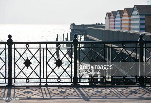 Hastings in October : Stock Photo