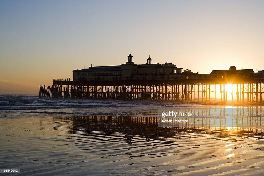 Hastings pier, Sussex, England