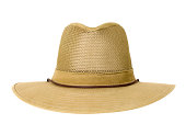 Hat Isolated With Clipping Path