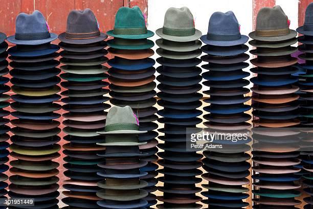 Hat Stall, Guamote, nr Riobamba, Ecuador
