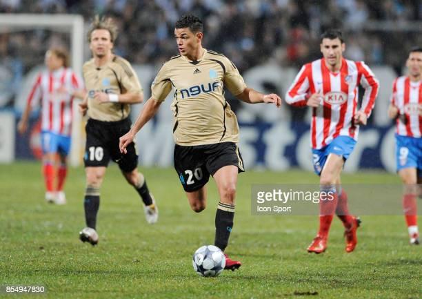 Hatem BEN ARFA Marseille / Atletico Madrid Champions League 2008/2009