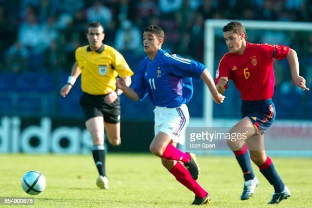 Hatem BEN ARFA France / Espagne Finale du Championnat d'Europe de football 2004 17ans