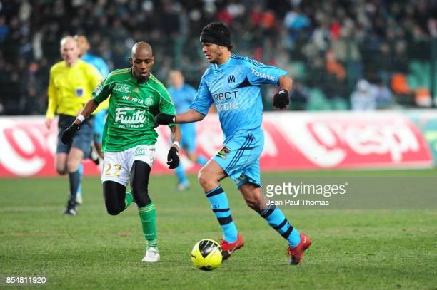 Hatem BEN ARFA Saint Etienne / Marseille 18eme journee de Ligue 1