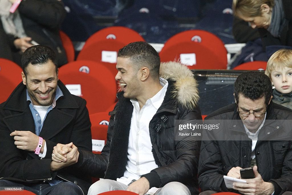 <a gi-track='captionPersonalityLinkClicked' href=/galleries/search?phrase=Hatem+Ben+Arfa&family=editorial&specificpeople=825038 ng-click='$event.stopPropagation()'>Hatem Ben Arfa</a> attends the French Ligue 1 match between Paris Saint-Germain FC and Ajaccio AC at Parc des Princes on January 11, 2013 in Paris, France.
