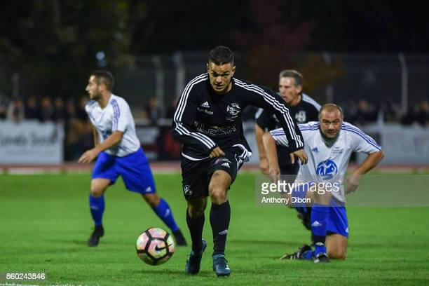 Hatem Ben Arfa during the Charity match between Variete Club de France and Selection Geodis on October 11 2017 in Poissy France
