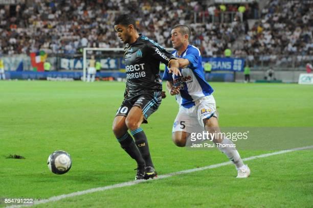 Hatem BEN ARFA Martial ROBIN Grenoble / Marseille 1ere journee de Ligue 1 Stade des Alpes Grenoble