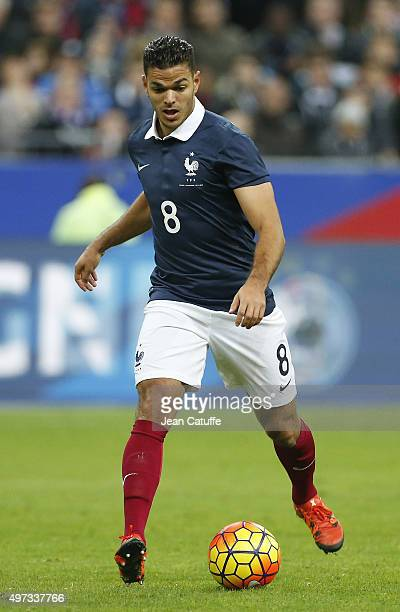 Hatem Ben Arfa of France in action during the international friendly match between France and Germany at Stade de France on November 13 2015 in...