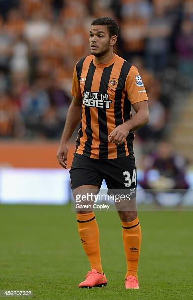 Hatem Ben Arfa of Hull City during the Barclays Premier League match between Hull City and Manchester City at KC Stadium on September 27 2014 in Hull...
