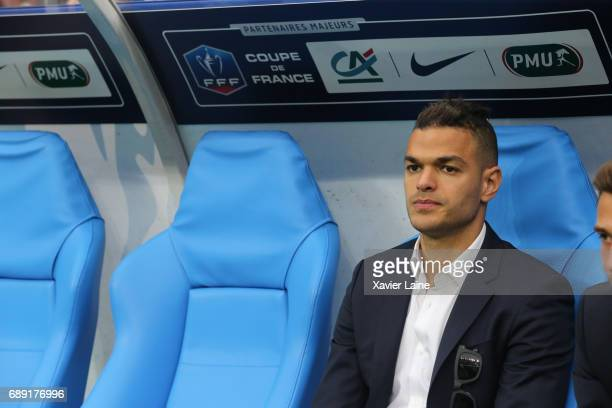 Hatem Ben Arfa of Paris SaintGermain during the French Cup Final match between Paris SaintGermain and SCO Angers at Stade de France on May 27 2017 in...